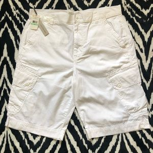 NEW - Calvin Klein Jeans white shorts